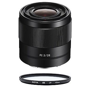 SONY SEL 28MM F2 + HOYA UX UV 49mm Filter
