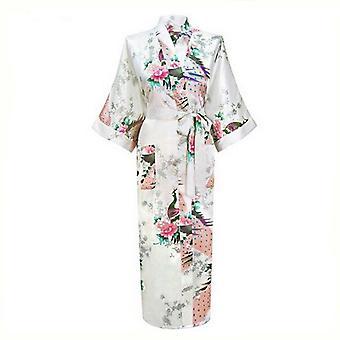 Long Style Loose Japanese Kimono