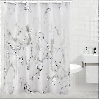 Ny marmor mønster polyester badeforhæng vandtæt