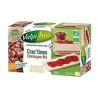 Crac'tine Riz - Organic Chestnut 6 units