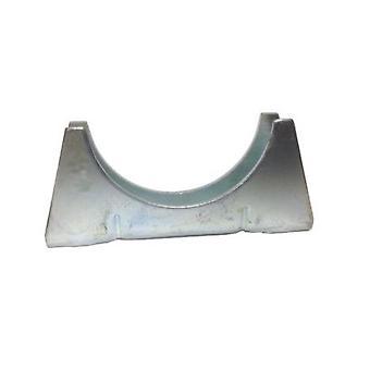Universal Auspuffrohr Cradle 42 Mm Rohr - verzinkt milden Stahl