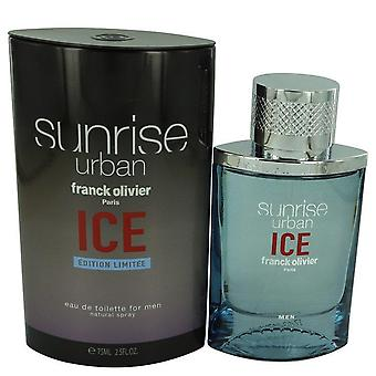 Sunrise Urban Ice Eau De Toilette Spray By Franck Olivier 2.5 oz Eau De Toilette Spray