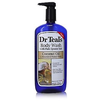 Dr Teal's Body Wash With Pure Epsom Salt Body Wast with pure epsom salt with Coconut oil By Dr Teal's 24 oz Body Wast with pure epsom salt with Coconut oil
