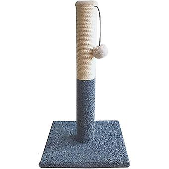 Cat Scratching Post New Pattern Grey Carpet Wear Resistant Pet Cat Grab Post Cat Claw Grinding Cat Toy