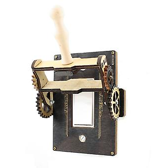 Steampunk Rocker Throw Switch - 8101e