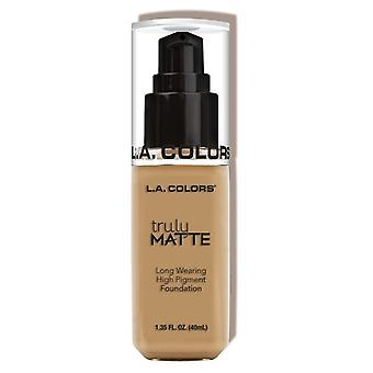 L.A. Colors Wirklich Matte Foundation Medium