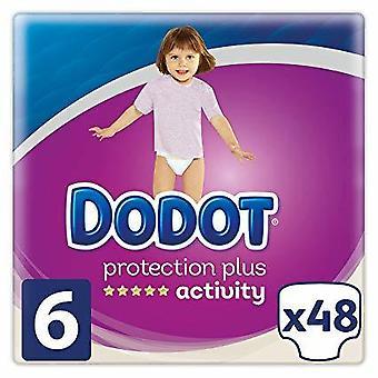 Dodot Activity Taille de Couche 6 avec 48 Unités