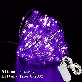 Led string lights decoraciones de alambre de cobre para el hogar
