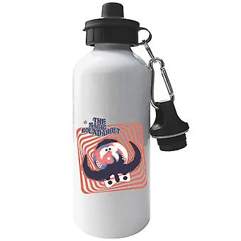 The Magic Roundabout Zebedee Psychedelic Lines Aluminium Sports Water Bottle