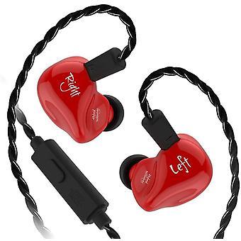 KZ Audio KZ ZS4 - In-ear Earbuds - Red