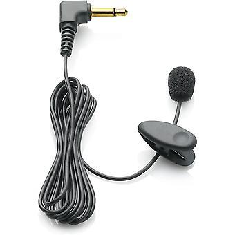 FengChun LFH9173 Anclippbares Mikrofon mit 3,5 mm Klinke, Windabschirmung Krawattenclip, Kabellänge