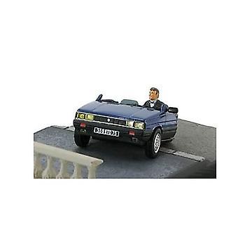 Renault 11 ' half Car ' Diecast model auto van James Bond een weergave naar een kill