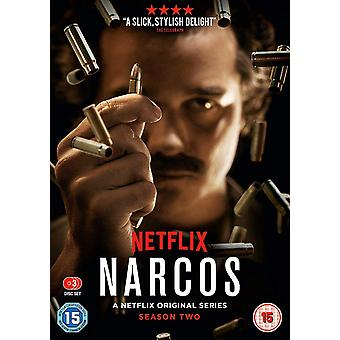 Narcos: The Complete Season Two DVD