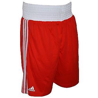 Adidas Boxerské šortky červená - malá