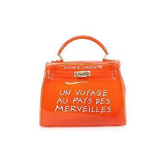 Hyytelö kirkas ranskalainen tote laukku oranssi
