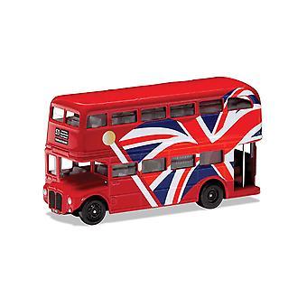 Union Jack London Bus Best of British Corgi 1:64 Model Bus