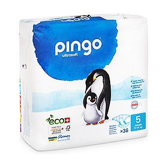 Bio T5 diapers (12-25 kg) 36 units (T5 (12-25 kg))