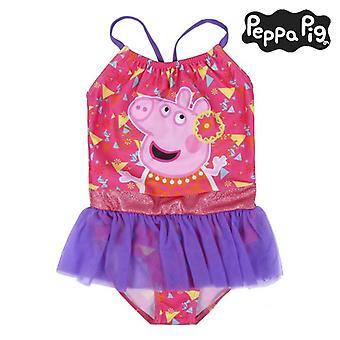 ملابس السباحة للبنات بيبا الخنزير