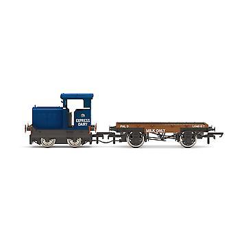 """הורנבי אקספרס חלב ושות' בע""""מ רוסטון &amp Hornsby 48DS כחול קטר מודל"""