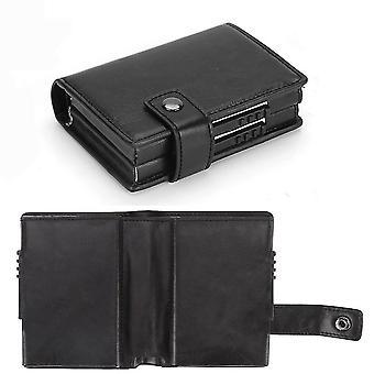 Wallet anti-theft credit card holder RFID credit card wallet(Color-1)