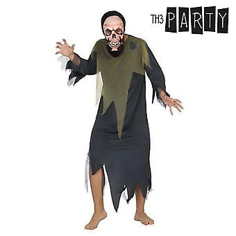 Costume for Adults Skeleton (2 Pcs)