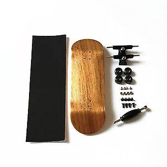 Fingerboard Skateboard, Wood Diy Assembly Skate Boarding Toy, Natal