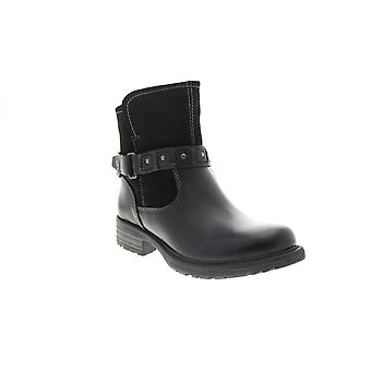 Earth Adult Womens Artistic Onyx Leather Casual Dress Boots