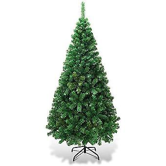 6ft Artificial Christmas Tree Xmas Pine Tree With Solid Metal Legs Perfect For Indoor And Outdoor Holiday Decoration