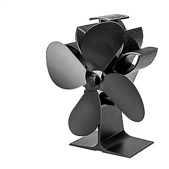 Heat Powered Fireplace Fan With 4 Blades