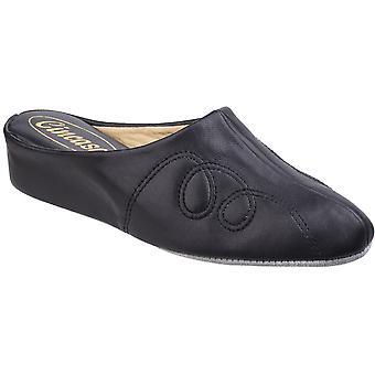 Cincasa Womens Mahon Slip On Soft Leather Slippers