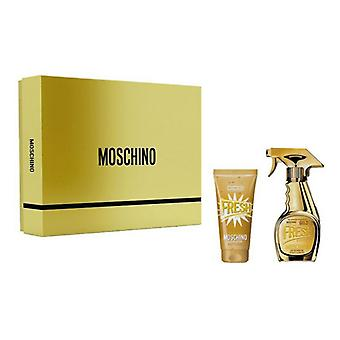 Women's Perfume Set Gold Fresh Couture Moschino EDP (2 pc's)