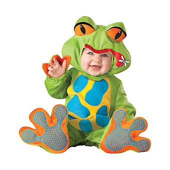 Lil Froggy Frog Animal Deluxe Toddler Boys Costume