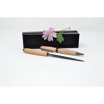 Holz Drehkugelschreiber Brieföffner Set aus Holz Birne twist pen Handarbeit Pen Geschenk Geschenkidee Unikat handmade