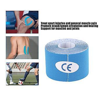 """1 רול 5 ס""""מ X 5m קינסיולוגיה ספורט אלסטי קלטת שריר טיפול בכאב"""