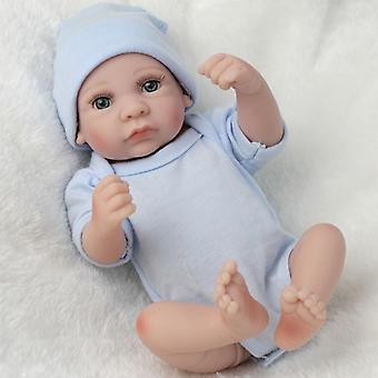 11inch Handmade Real Privind Nou-născut Baby Boy Doll