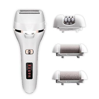 4-in-1 Electric Shaver Set With Battery Status Display