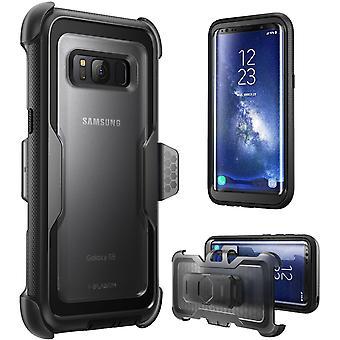 Galaxy S8 Case, Armorbox, i-Blason, Shock Reduction, Bumper Case 2017 Release-Black