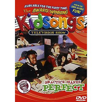 Kidsongs - Practice Makes Perfect [DVD] USA import