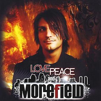 Morefield - kjærlighet fred & Morefield [DVD] USA importere