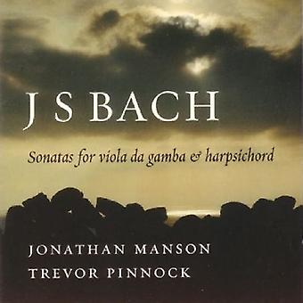 J.S. Bach - Bach: Sonatas for Viola Da Gamba & Harpsichord [CD] USA import