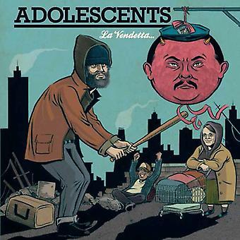 Adolescents - La Vendetta E Un Piatto Che Va Servito Freddo [CD] USA import