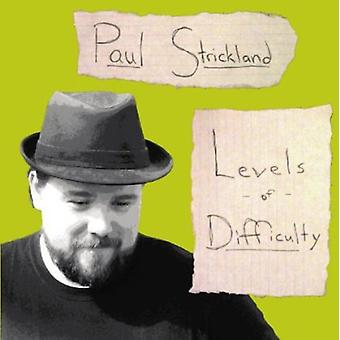 Paul Strickland - Levels of Difficulty [CD] USA import