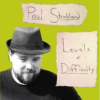Paul Strickland - nivåer av vanskeligheter [DVD] USA import