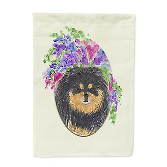 Carolines Treasures  SS8075-FLAG-PARENT Pomeranian Flag