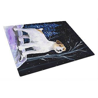 Découpe de verre Jack Russell Terrier de Carolines trésors SS8388LCB nuit étoilée B