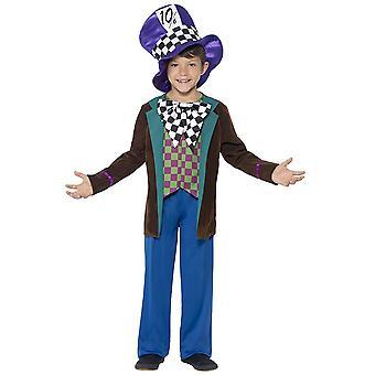 Infantiles disfraces disfraz Sombrerero Deluxe para niños