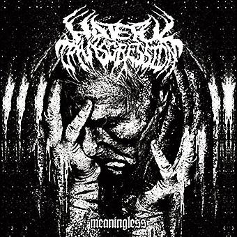 Hateful Transgression - Meaningless [CD] USA import