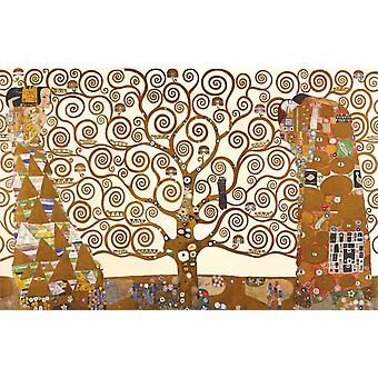 Klimt Tree Poster Print Tree of life Poster Poster Print