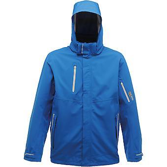 レガッタ外気圏メンズ ストレッチ防水透湿ジャケット ブルー