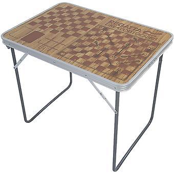 印刷のボードゲームのレガッタ折り畳む式アルミ キャンプ テーブル
